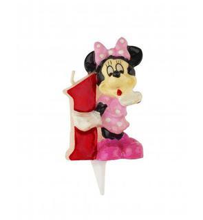 Bougie chiffre 1 Minnie?