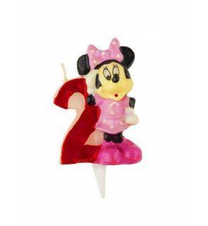 Bougie chiffre 2 Minnie?