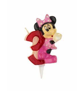 Bougie chiffre 3 Minnie?