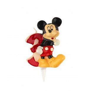 Bougie chiffre 3 Mickey?