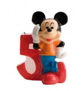 Bougie chiffre 5 Mickey?
