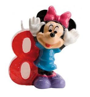 Bougie numéro 8 Minnie?
