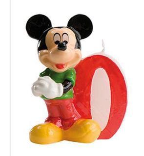 Bougie numéro 0 Mickey?