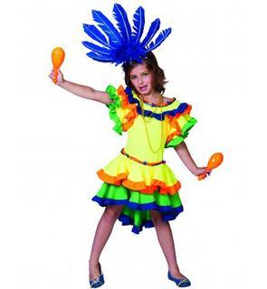 Déguisement danseuse rumba fille