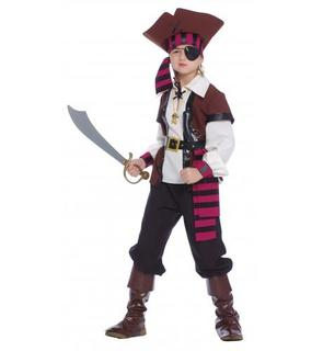 Déguisement pirate des 7 mers garçon