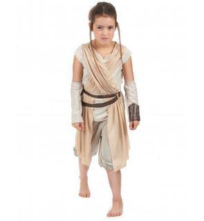 Déguisement luxe Rey pour fille - Star Wars VII?
