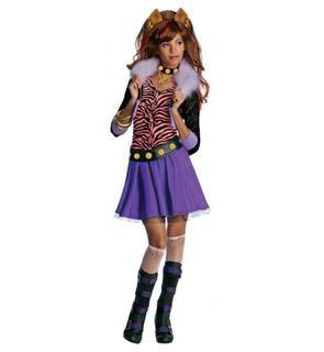 Déguisement Clawdeen Wolf Monster High? fille