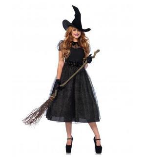 Déguisement sorcière nuit étoilée femme Halloween