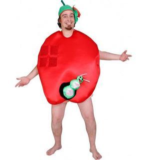 Déguisement humoristique pomme adulte