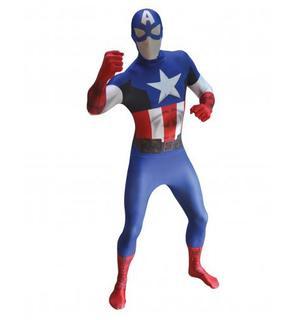 Déguisement Captain America? adulte Morphsuits?