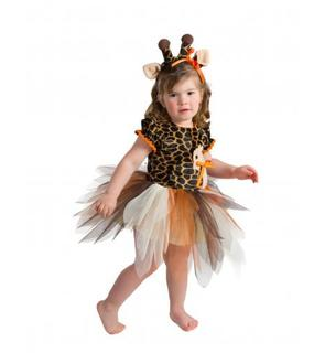 Déguisement girafe bébé - Premium