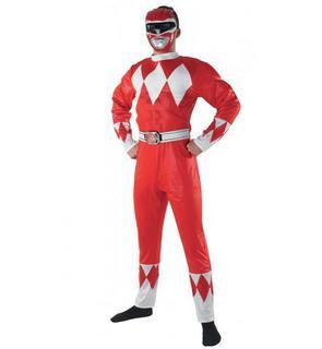 Déguisement Power Rangers? rouge adulte