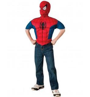 Plastron et cagoule enfant Spiderman? Ultimate