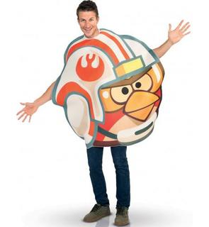 Déguisement Angry birds Luke X-wing pilote? adulte