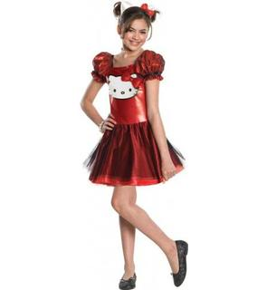 Déguisement Hello Kitty? rouge fille