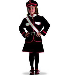 Déguisement carabinieri fille