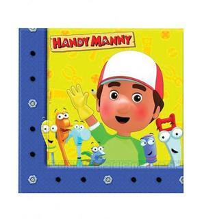 20 Serviettes en papier Manny et ses outils? 33 x 33 cm