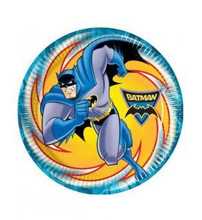 8 Assiettes Batman? 23 cm