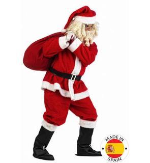 Déguisement Père Noël en peluche homme