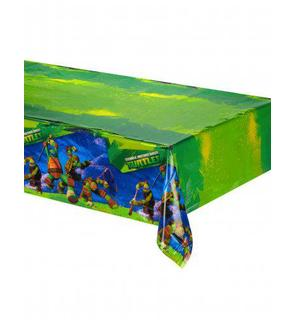 Nappe en plastique Tortues Ninja?