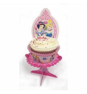 4 Mini-supports pour cupcakes Princesses Disney?