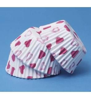 60 moules à cupcake petits c?urs