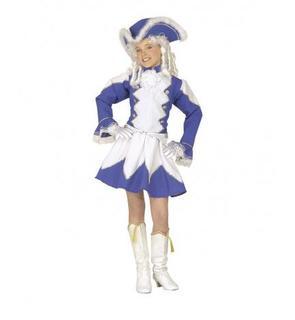 Déguisement majorette bleue fille