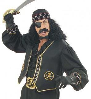 Gilet pirate adulte