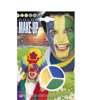Maquillage supporter Brésil