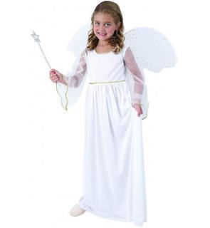 Déguisement ange blanc fille