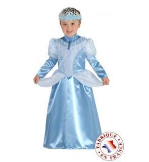 Déguisement marquise bleu fille