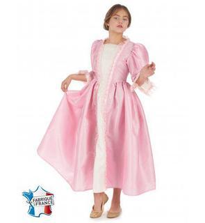 Déguisement marquise rose fille