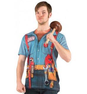T-Shirt plombier adulte