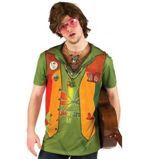 T-Shirt Hippie adulte