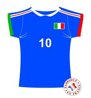 Cut out maillot Italie