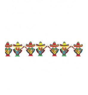 Guirlande mariachi mexique 3 mètres