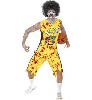 Déguisement zombie basketteur homme Halloween