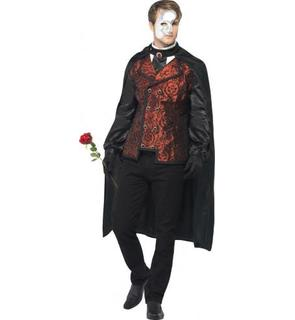 Déguisement comte rouge homme Halloween