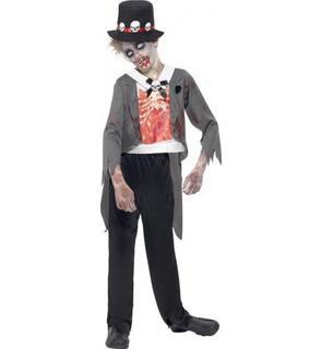 Déguisement zombie marié garçon Halloween