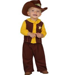 Déguisement cowboy bébé