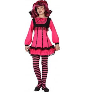 Déguisement vampire rose fille Halloween