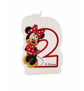Bougie âge 2 ans Minnie café?