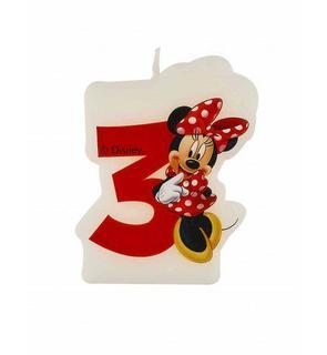 Bougie 3 ans Minnie café?