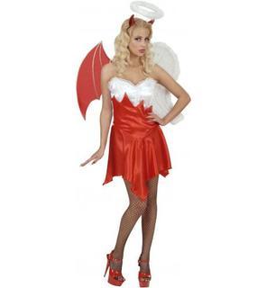 Déguisement ange et démon femme Halloween