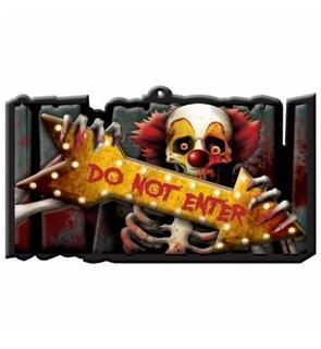 Décoration panneau Halloween