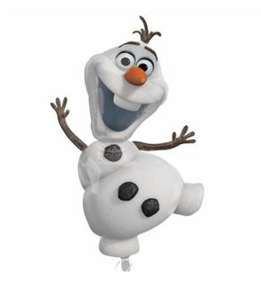 Ballon aluminium Olaf Reine des neiges?