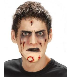 Faux menton zombie adulte Halloween