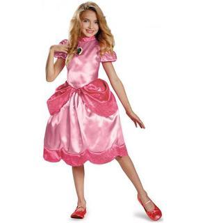 Déguisement Princesse Peach? Fille