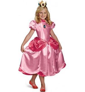 Déguisement Princesse Peach? Deluxe Fille