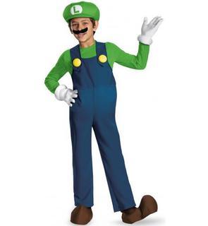 Déguisement Luigi? Prestige Enfant
